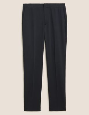 Slim Fit Jersey Stretch Trousers