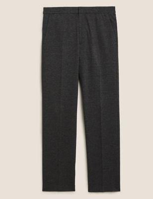 Regular Fit Elasticated Trouser