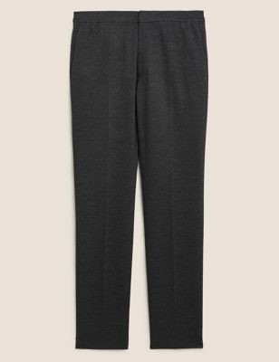 Slim Fit Jersey Elasticated Trousers