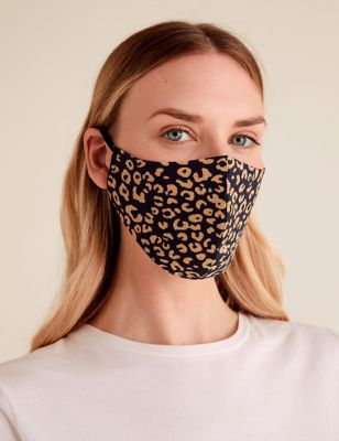5 Pack Reusable & Adjustable Adult Face Coverings