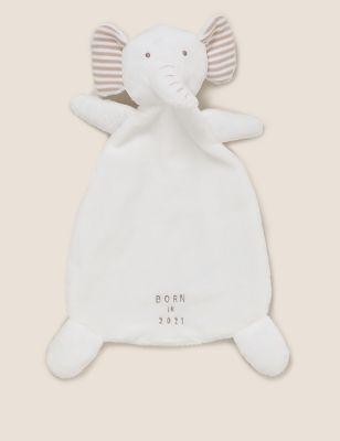 Born in 2021 Elephant Comforter