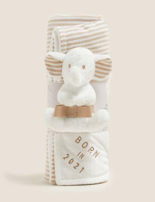 Born in 2021 Elephant Gift Set