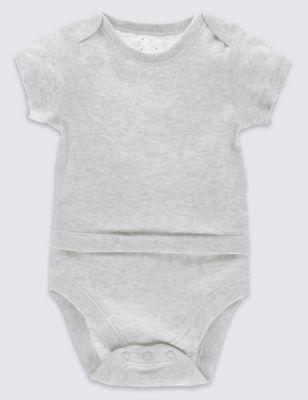 Adaptive Pure Cotton Bodysuit (7lbs-16 Yrs)