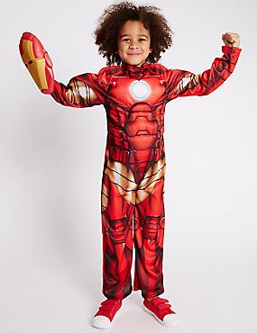 Kids' Iron Man™ Dress Up Costume, RED MIX, catlanding