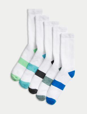 5pk Cotton Sports Socks