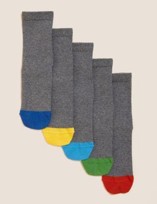 5pk Cotton Avengers™School Socks