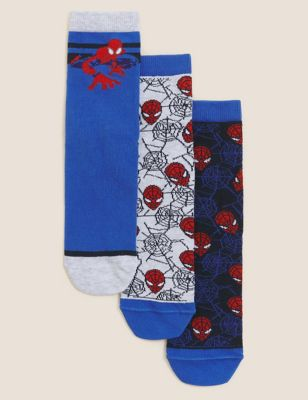3pk Cotton Spider-Man™ Socks