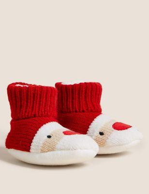 Santa Booties (0-24 Mths)