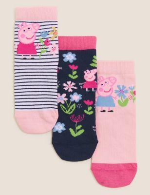 3pk Cotton Peppa Pig™ Socks