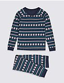 Fairisle Thermal Set (18 Months - 16 Years)
