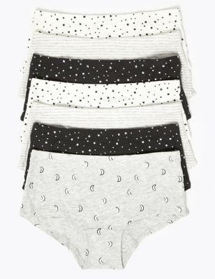 7 Pack Star Shorts (2-16 Yrs)