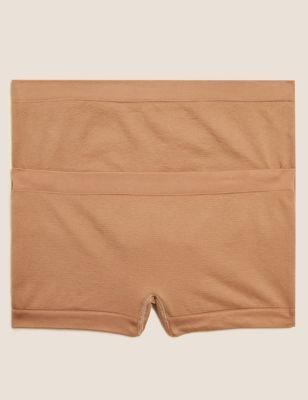 2pk Seamfree Shorts (6-16 Yrs)