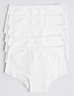 T71/6370: 5 Pack Cotton Rich Assorted Shorts (6-16 Years)