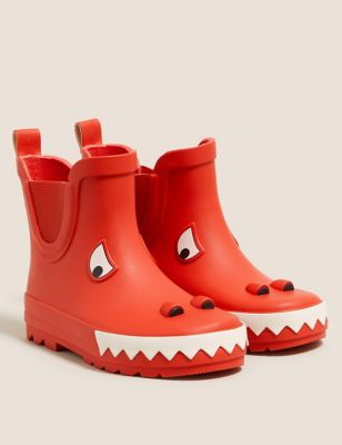 Kids' Monster Chelsea Wellies (5 Small - 12 Small)