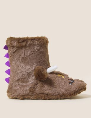 Kids' The Gruffalo™ Slipper Boots (5 Small - 12 Small)