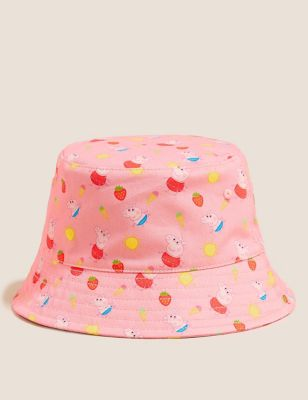 Kids' Pure Cotton Peppa Pig™ Sun Hat (12 Mths - 6 Yrs)