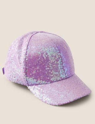 Kids' Sequin Baseball Cap (6-10 Yrs)