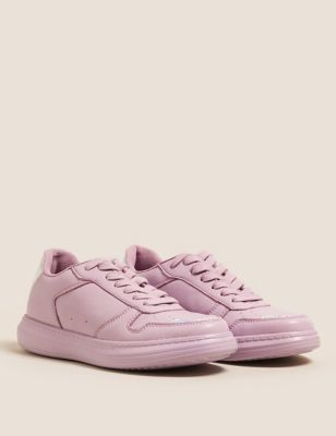 Kids' Freshfeet™ Lilac Wedge Trainers (13 Small - 6 Large)