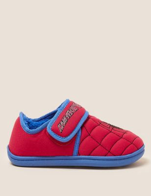 Kids' Spider-Man™ Riptape Slippers (5 Small - 12 Small)