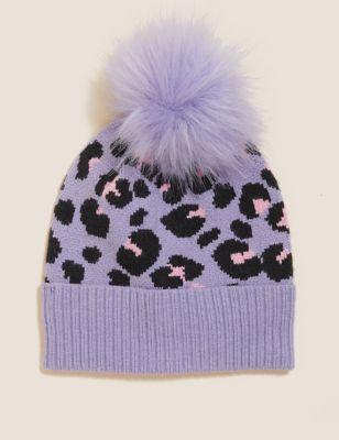 Kids' Leopard Winter Hat (12 Mths - 13 Yrs)