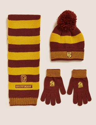 Harry Potter™ Hat, Scarf and Glove Set(1-13 Yrs)