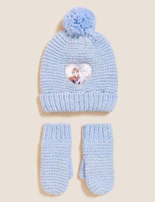 Kids' Frozen™ Hat and Glove Set (18 Mths - 10 Yrs)
