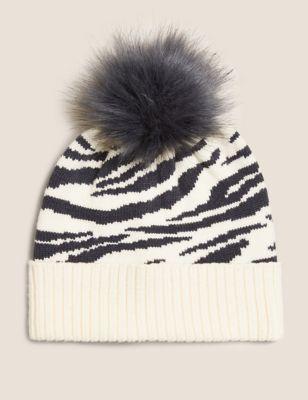 Kids' Animal Print Winter Hat (12 Mths - 13 Yrs)