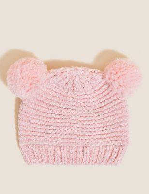 Kids' Cotton Pom Pom Hat (0-6 Yrs)