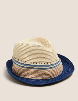 Kids' Straw Sun Hat (1- 13 Yrs)