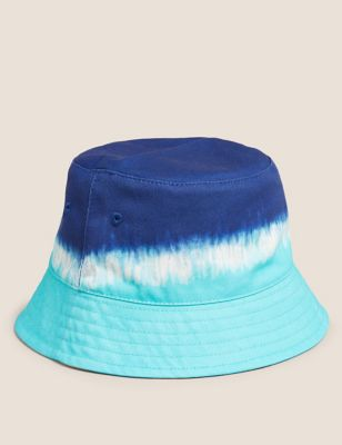 Kids' Pure Cotton Tie Dye Sun Hat (12 Mths- 13 Yrs)