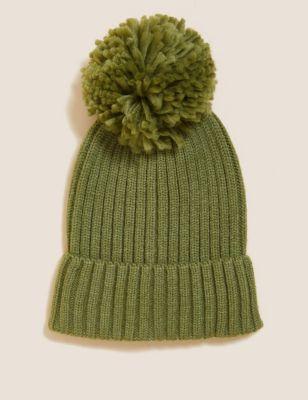 Kids' Pom Pom Winter Hat (12 Mths - 13 Yrs)