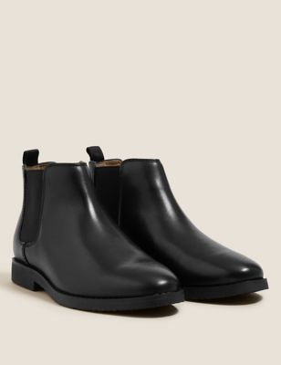Kids' Leather Freshfeet™ Chelsea Boots (13 Small - 7 Large)