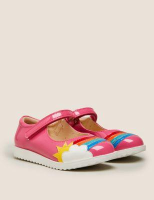 Kids' Riptape Rainbow Mary Jane Shoes (5 Small - 12 Small)