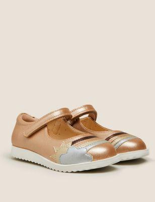 Kids' Metallic Rainbow Mary Jane Shoes (5 small-12 small)