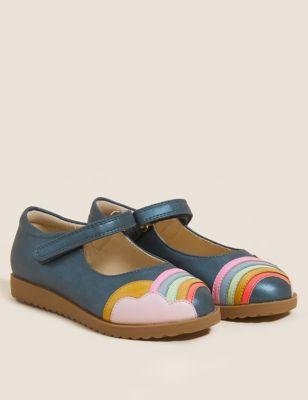 Kids' Freshfeet™ Riptape Mary Jane Shoes (5 Small - 12 Small)