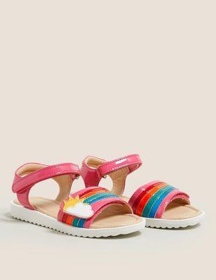 Kids' Riptape Rainbow Sandals (5 Small - 12 Small)