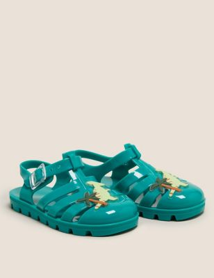 Kids' Dinosaur Jelly Shoes (5 Small - 12 Small)