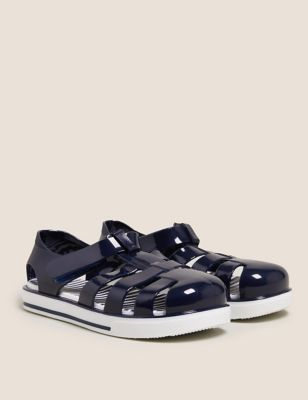 Kids' Riptape Jelly Shoes (5 Small - 12 Small)