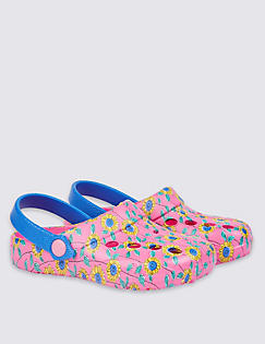 T72/4615Y: Kids' All Over Print Slip-On Shoes