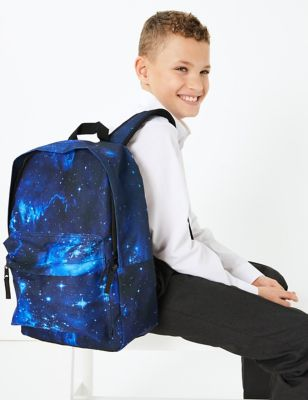 Kids' Space Design Water Repellent School Backpack
