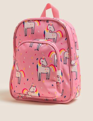 Kids' Water Repellent Unicorn School Backpack