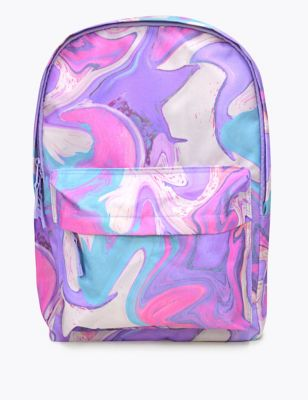 Kids' Marble Water Repellent School Backpack