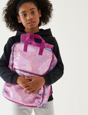 Kids' Reversible Sequin School Backpack
