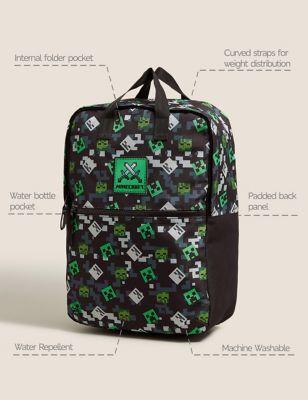 Kids' Minecraft™ Water Repellent School Backpack