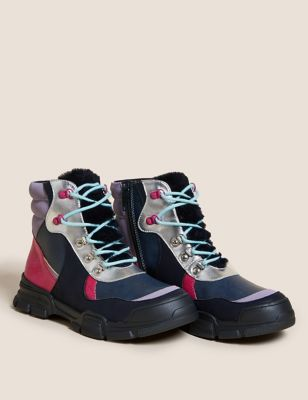 Kids' Freshfeet™ Hiker Ankle Boots (5 Small - 6 Large)