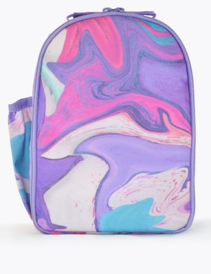 Kids' Marble Print Lunch Box