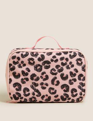 Kids' Leopard Print Lunch Box
