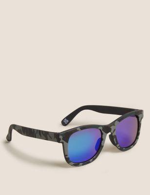 Kids' Camo Wayfarer Sunglasses