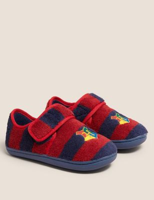Harry Potter™ Riptape Slippers (5 Small - 12 Small)