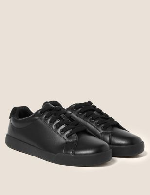 Kids' Leather Freshfeet™ Trainers (13 Small - 9 Large)
